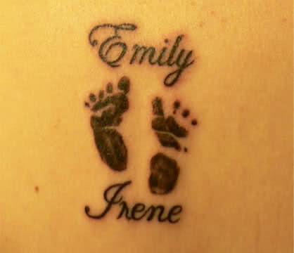 Grand parent tattoo designs for Parents against tattoos