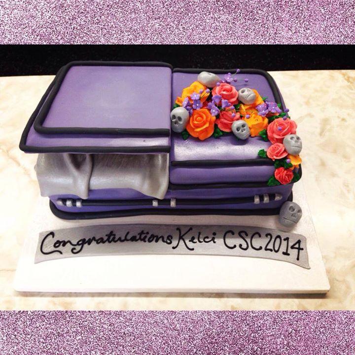 Mortician Birthday Cake