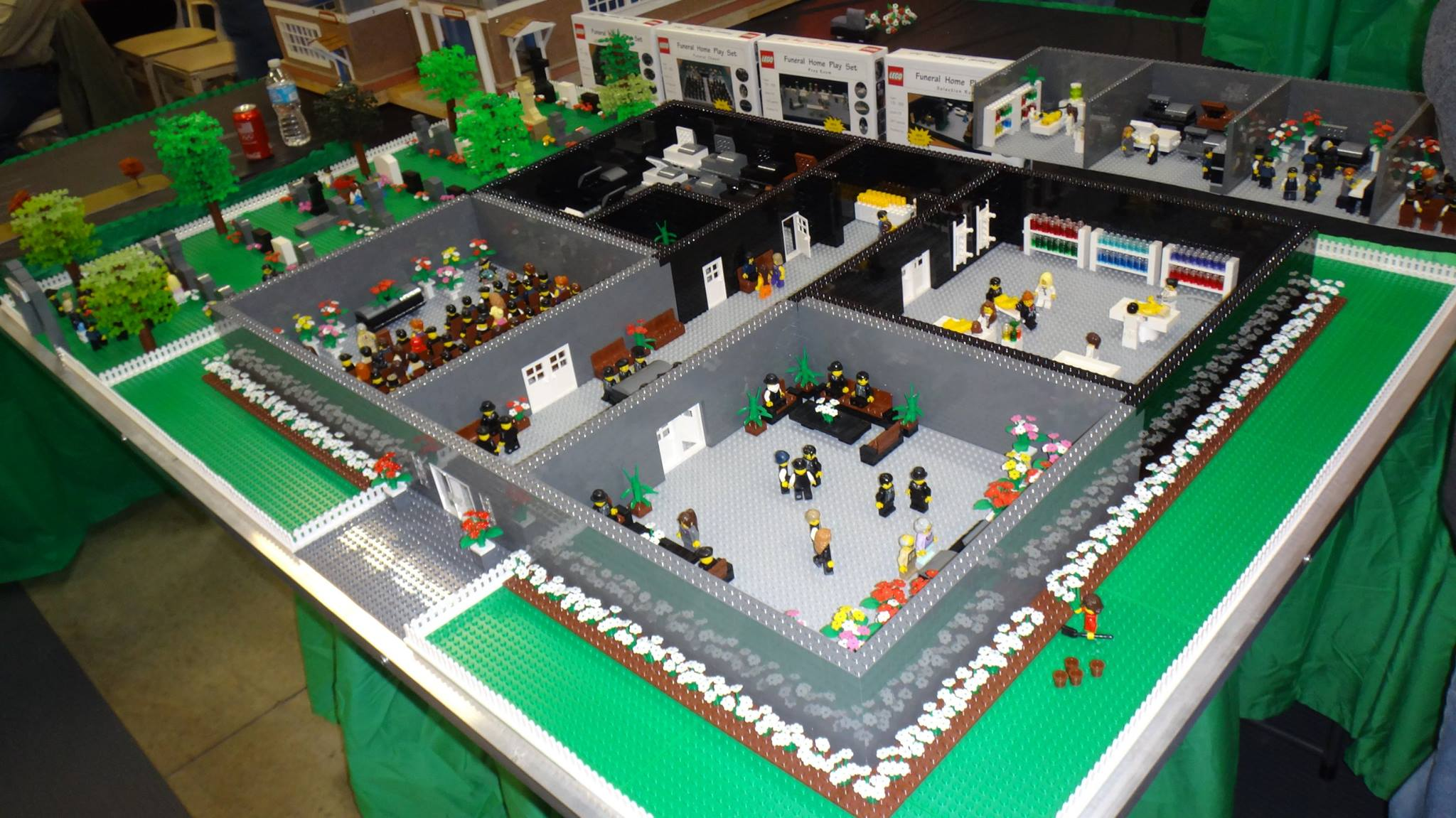 CONFESSIONS OF A FUNERAL DIRECTOR » 12 Photos of the LEGO Funeral ...